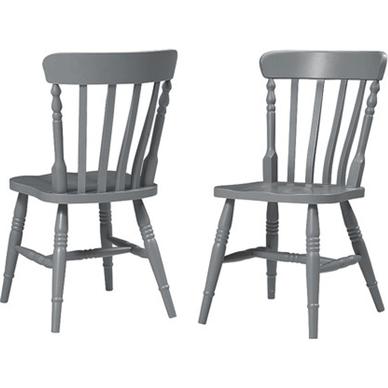 Farmhouse Storm Grey Kitchen Chair 99 00 Go Furniture Co Uk