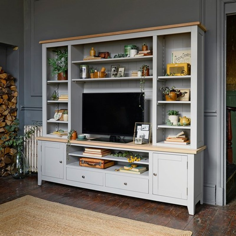 Photo of Chester Dove Grey Tv And Media Storage Unit