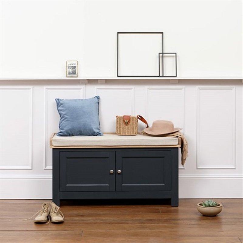 Photo of Ellwood Charcoal Hidden Shoe Storage Bench