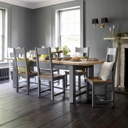 Photo of Sussex Storm Grey 180-220-260cm Extending Table
