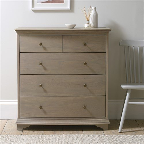 Photo of Winchcombe Smoked Oak New 2+3 Chest Of Drawers