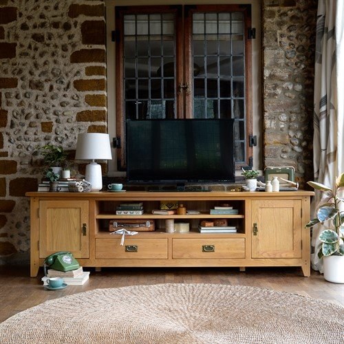 Photo of Oakland Extra Large Tv Stand - Up To 99