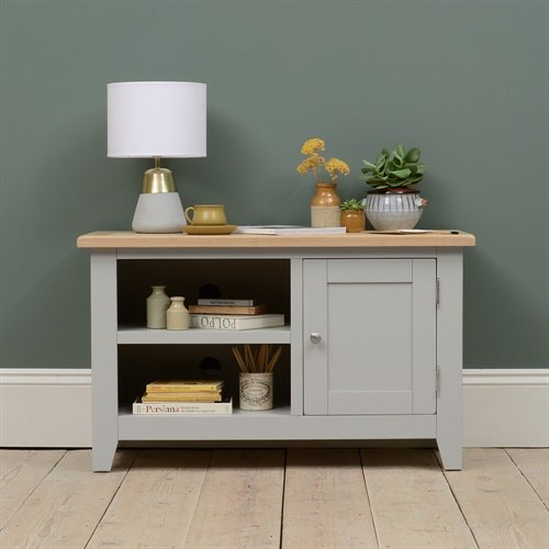 Photo of Chester Dove Grey Tv Unit - Up To 45
