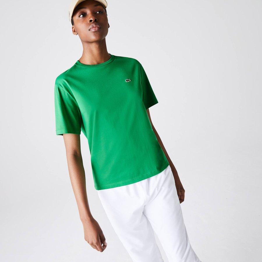 Artikel klicken und genauer betrachten! - Dieses T-Shirt in modernen Farben sorgt für ein klassisches Feeling. Die minimalistischen Linien sind weich und komfortabel, für einen perfekten urbanen Look.   im Online Shop kaufen